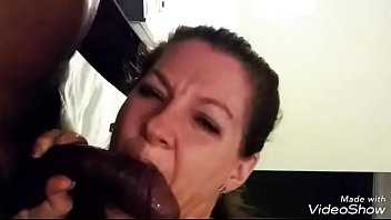 Wife goes black