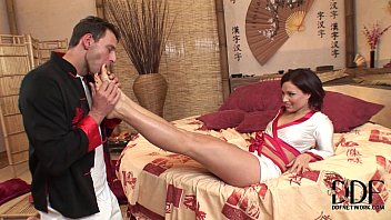 Sylvia Laurent - martial arts with fucking and footjob! Image