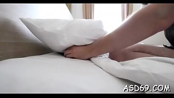Thai gal takes off her raiment and undies to go hardcore