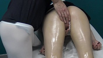 Profile find sex - Blonde russian milf decided to go for massage let the masseur spank fuck her wet pussy with his fingers because her husband cheats on her
