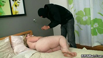 He breaks into her house and bangs her fat cunt