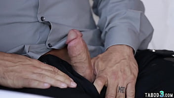 Stepdad Rips Teens Pants And Fucks Her Trimmed Pussy