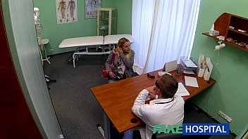 FakeHospital Dizzy young blonde takes a creampie from doctor 14 min