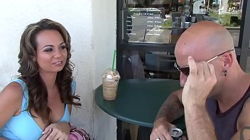 Holly asks a guy to take her home to fuck her hard