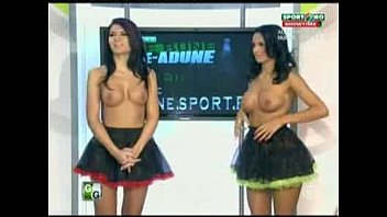 Naked news un senor Goluri si goale ep 16 miki si roxana romania naked news