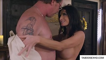 Stepmom get drilled by stepson and dad