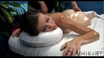Pretty all natural drilled by massage therapist