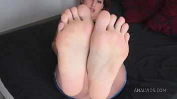 Only Anal, 0% pussy   Foot Fetish, Two cumshot in foot ALS027 23 sec