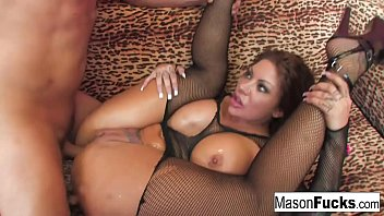 Busty Mason gets her pussy and ass pounded in this Puba Exclusive