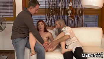 Daddy loves to Unexpected practice with an older gentleman