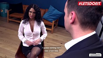 LETSDOEIT - Curly Haired Mara Martinez End Up In The Office Of Her Dirty Boss