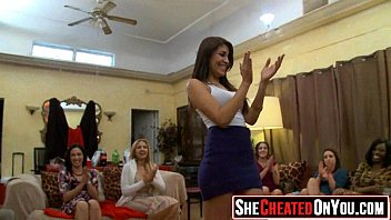 37 Hot rich milfs throw secret cfnm orgy.55