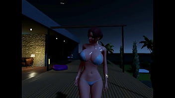 3D Adult Chat Gameplay Two KatsumiAmane 20 min