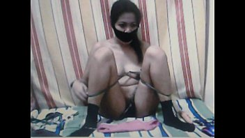big asian bbw Kidnapped Sex Slave Almiera is played with.---Part 2