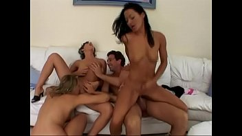 Rough sex orgy Crazy orgy for a group of young sluts
