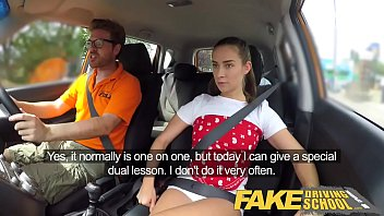Mivie sex drive Fake driving school horny learners dirty secret suck and fuck session