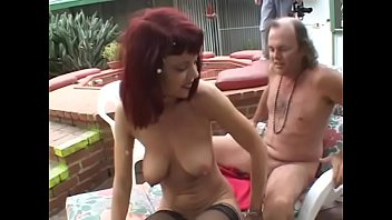 Streaming Video Getting thin on top dude helps playful redhaired housewife in black lingerie Rubee Tuesday to have a good time near the pool - XLXX.video