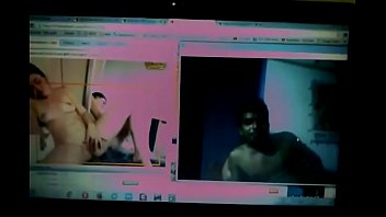 Deshi couple showing boobs on Facebook video chat