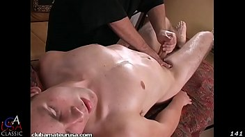 Tate was all over the massage table.. moaning.. gasping..