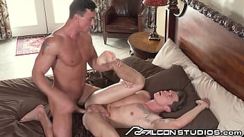 Handsome Cade Maddox Make Up Sex With Muscular BF - FalconStudios