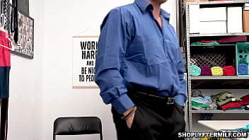 Officer Marcus London strips Krissy Lynns clothes and enjoys her body