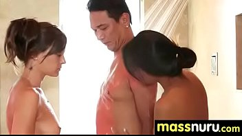 Nuru Massage Ends with a Hot Shower Fuck 14