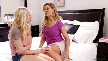 View free porn on iphone Step-mother cherie deville licking alli raes pussy