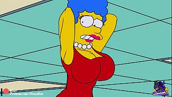 The simpson nude scene Marge simpson tits
