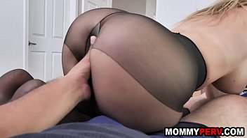 Mom fucking step son after his gf dumped him