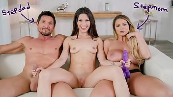 FILTHY FAMILY - Gianna Gem Learns To Fuck With Her Step Parents Brooklyn Chase & Tommy Gunn