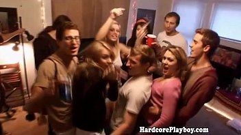 Cocksucking orgy - Hardcore teens enjoying an orgy