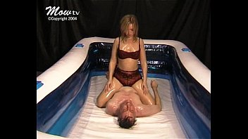 Mixed Oil Wrestling - 007 - Sexy Submission - Becky