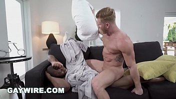 Free gay black hardcore Gaywire - johnny v fucks a sex toy, then suddenly adonis couverture appears