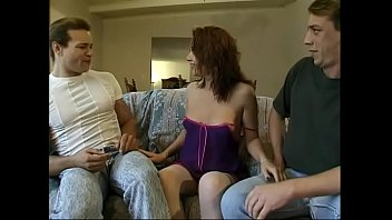 The only way  for smart cutie Alyssa Allure to get her twat banged by queer dude is persuade her straight friend into drillinig his arse