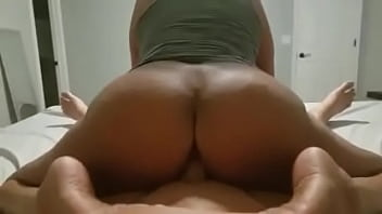 Big Ass Asian MILF rides cock and explodes with orgasms