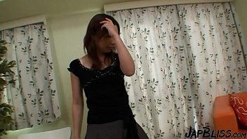 Horny Japanese Step Mom Gets A Creampie
