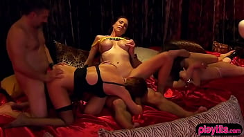 Its their very first time at the LA swingers club