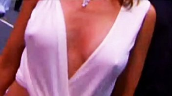 Kylie Minogue See-Thru Nipples - MTV Awards 2002
