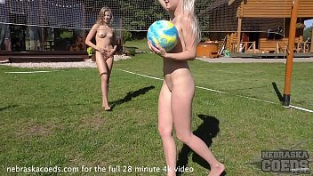 Volley ball naked