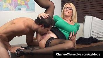 Milfs teacher videos Sex ed teacher charlee chase mouth pussy fucks student