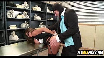 Madison Ivy Fucked In The Bank Vault