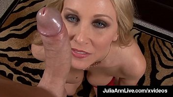 American Woman Julia Ann Face Fucks Hard Cock Point Of View!