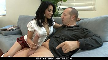 DirtyStepDaughter - Naughty Student Andrea Kelly Fucking Her Teacher