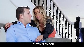 Hot-MILF Caught Son With Pants Down - Alexis Fawx