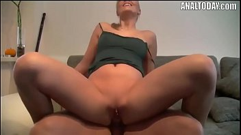 Hard Anal Fuck And Facial For Poor Blonde Girl