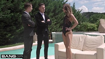 Dp escort hungary Glamkore - amirah adara gets a sensual dp outdoors