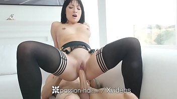 PASSION-HD Big dick treat for aggressive masturbating girlfriend