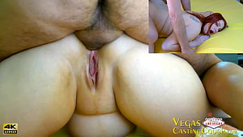 Anal Sex During Model's Vegas Casting with Deep Ass Plug First Fingered and Fucked