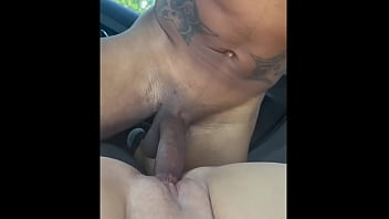Jane Dro Meets Her Boyfriend At The Store and Fucks Him In The Parking Lot
