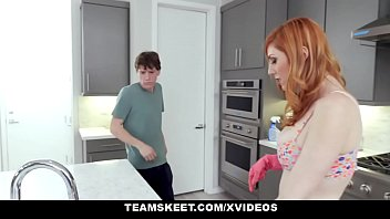 Clothed cumshot busty - Gingerpatch - milf with red hair loves fucking young cock